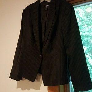 Women's plus blazer